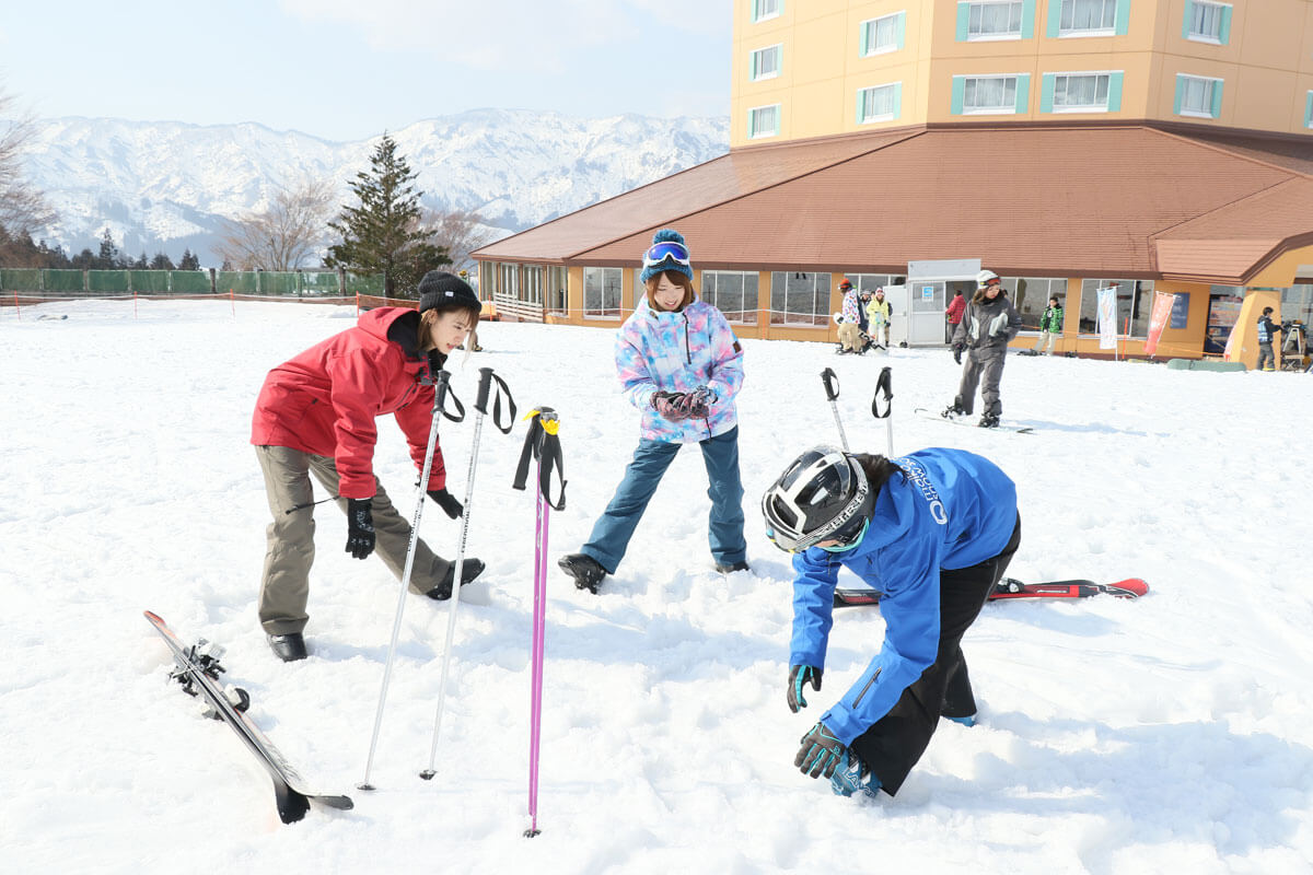 痛み スキースノボ