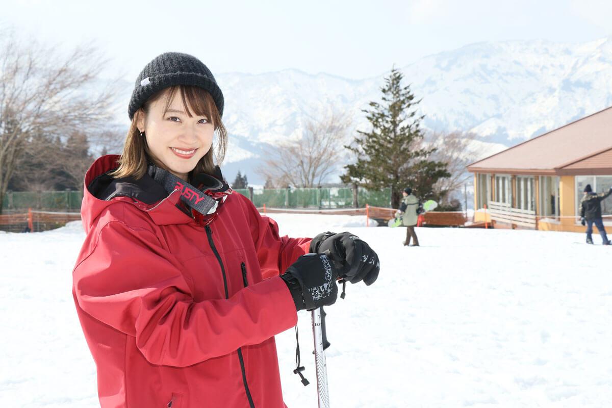 スキー 女性