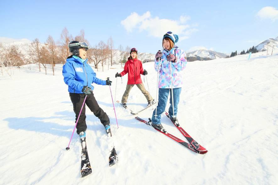 スキー スノボ けが防止