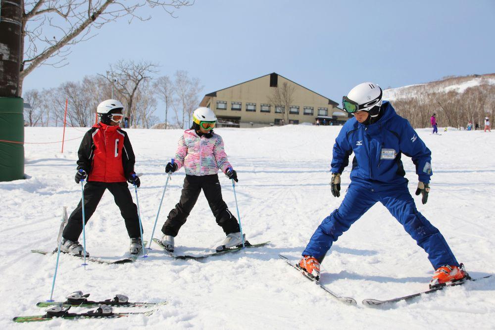 スキー 止まり方