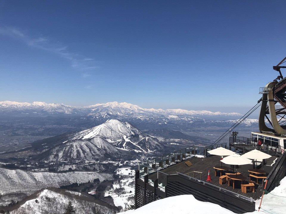 景色の綺麗なスキー場