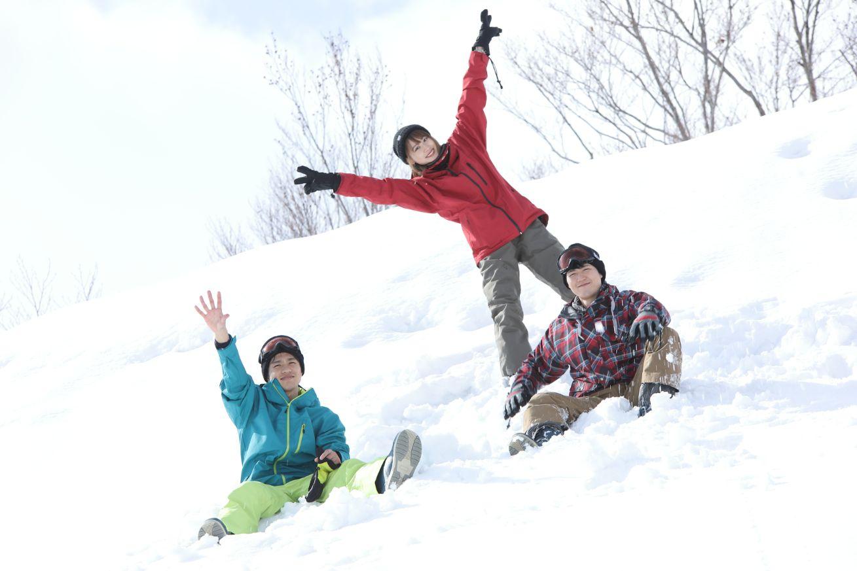 スキー 誘われたら