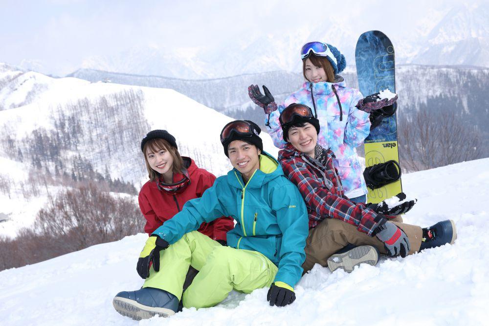 スキー 泊り