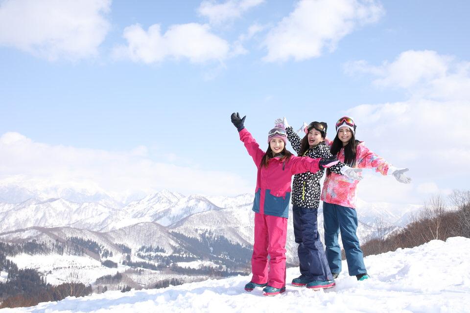 女性スキー場