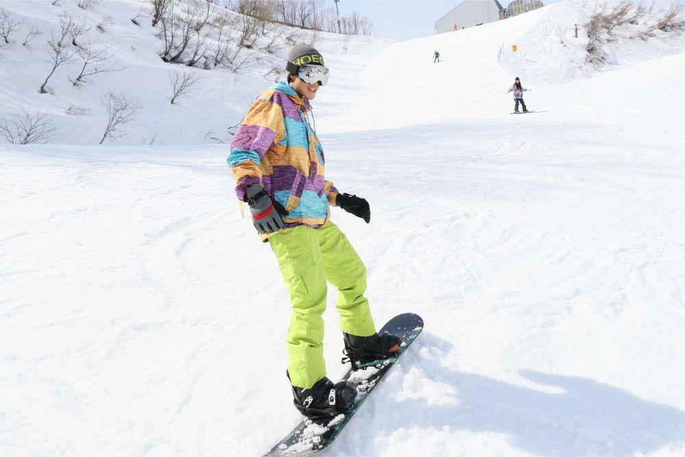 スキー場 風邪