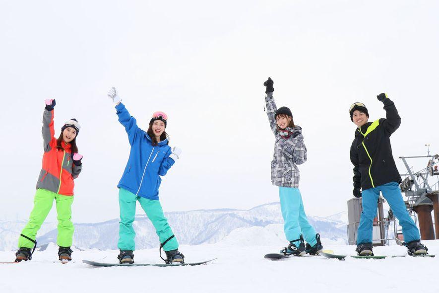 スキー場 携帯