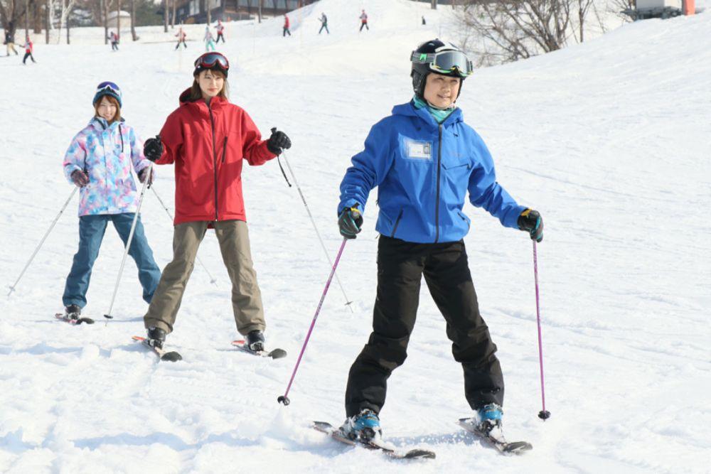 スキー けが防止
