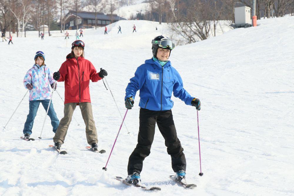スキー 歩き方