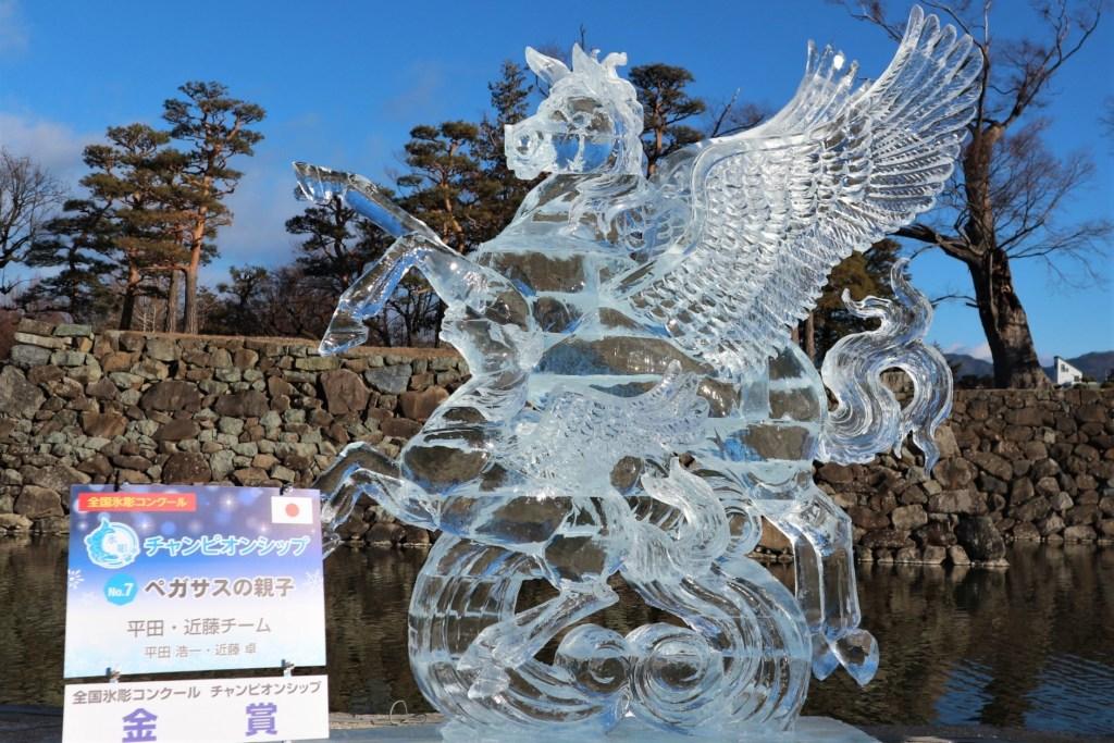 全国氷彫コンクール2019年金賞作品