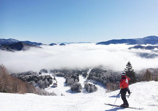 天然雪 滑り