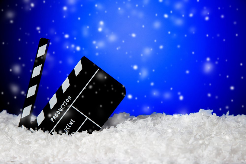スキーと映画