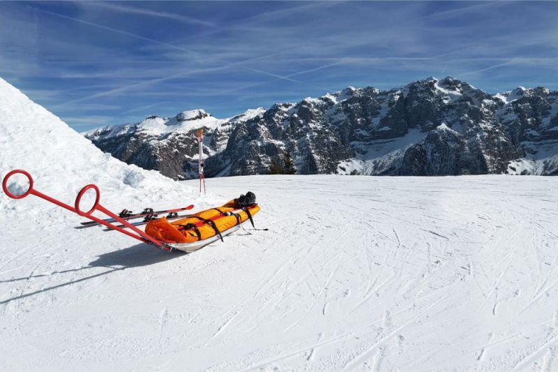 スキー 安全確認