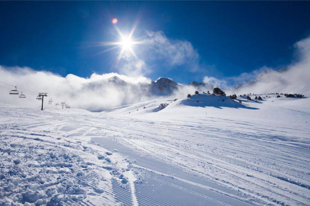 ゲレンデ焼け スキー