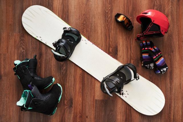 スノーボード 道具 一式 荷物