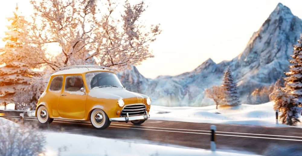 雪道 運転