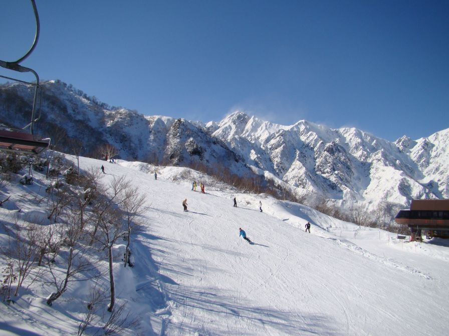 青春18きっぷ スキー場