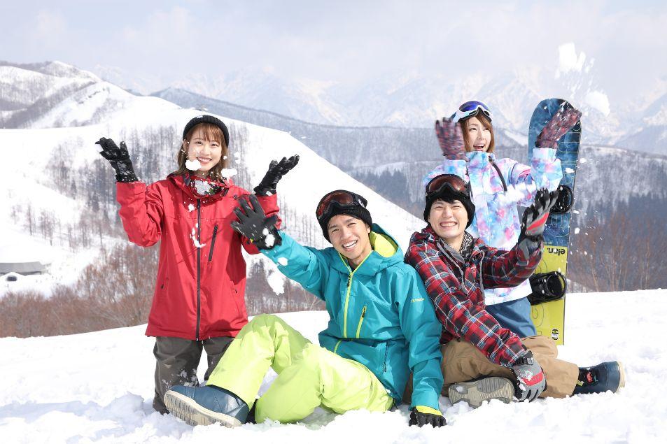 スキー場 アクティビティ