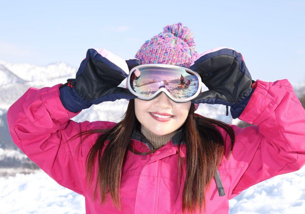スキー場 一人