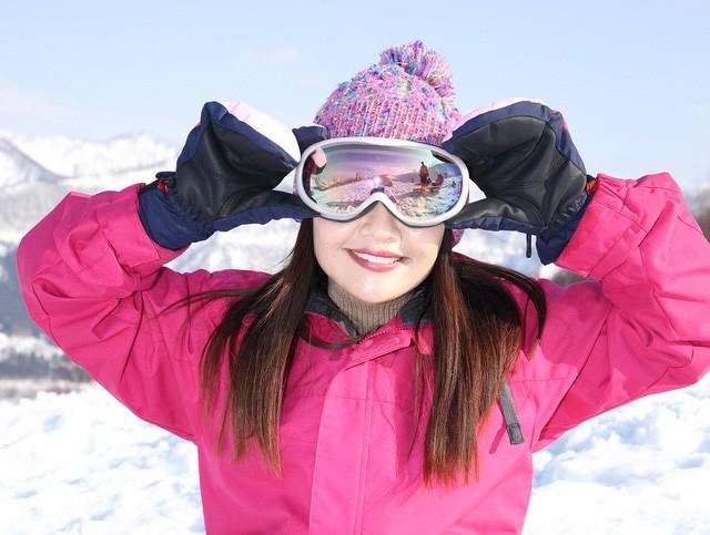 スキー 防寒