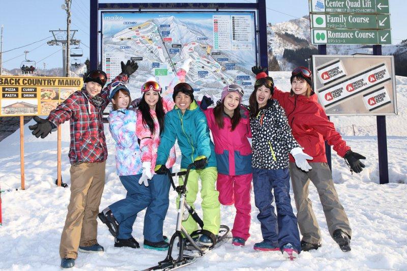 スキー場前