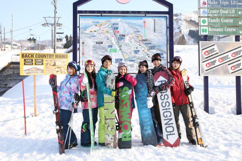 スキー場 ツアー