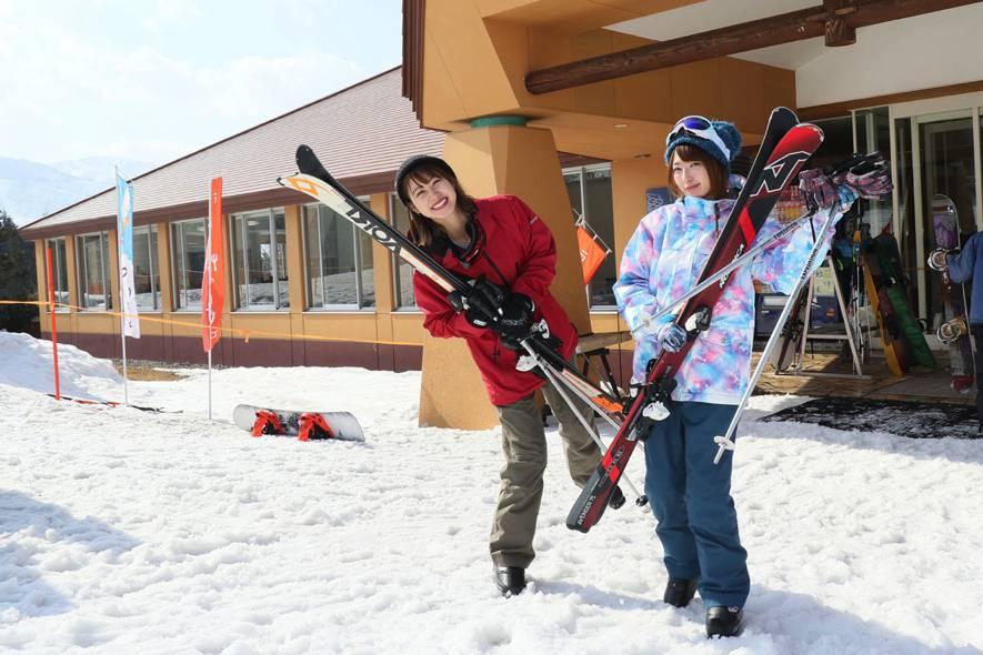 スキー板 長さ