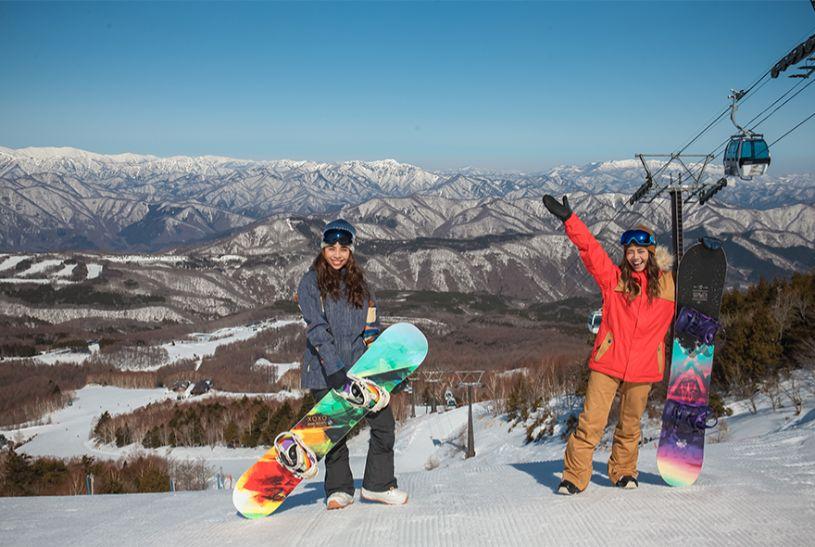 スキー場 寒い