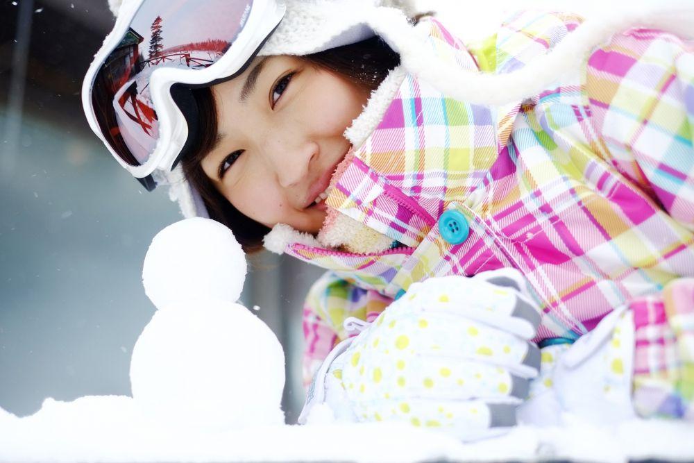 スキー 女子 準備