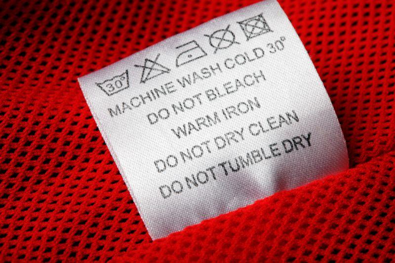 洗濯表示表示