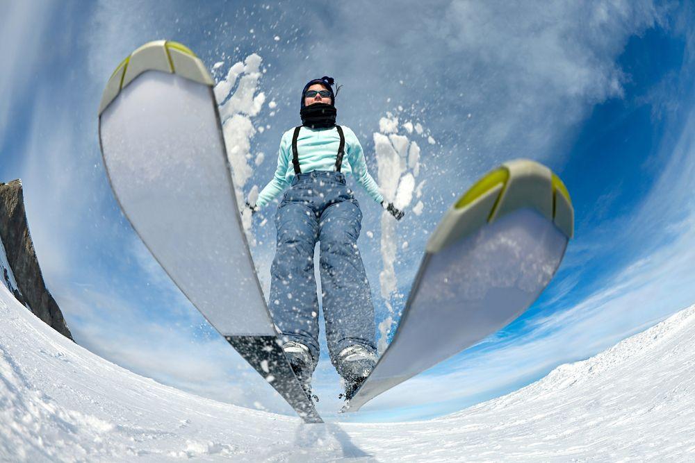 スキー練習