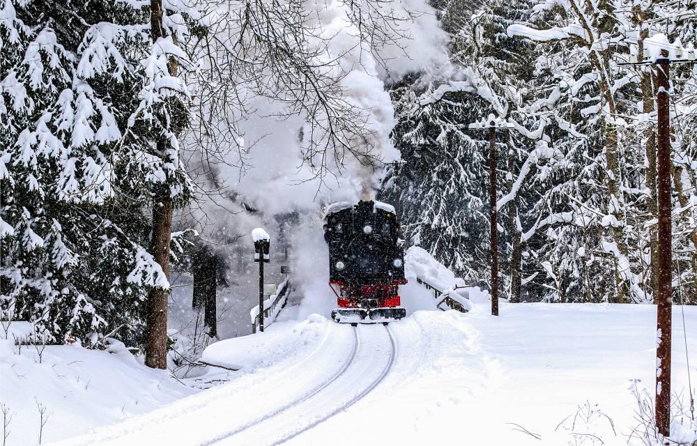 スキー 電車