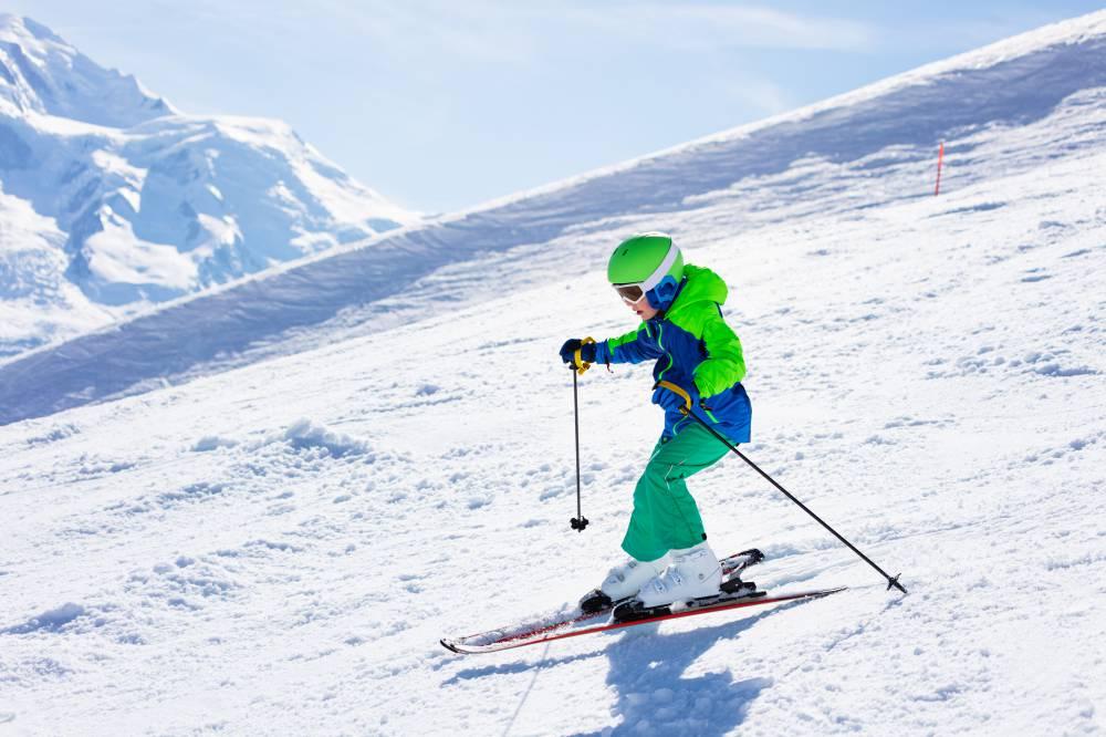 スキー 滑りかた