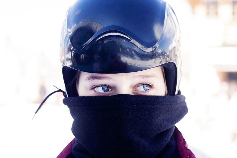 スキーヤー目線