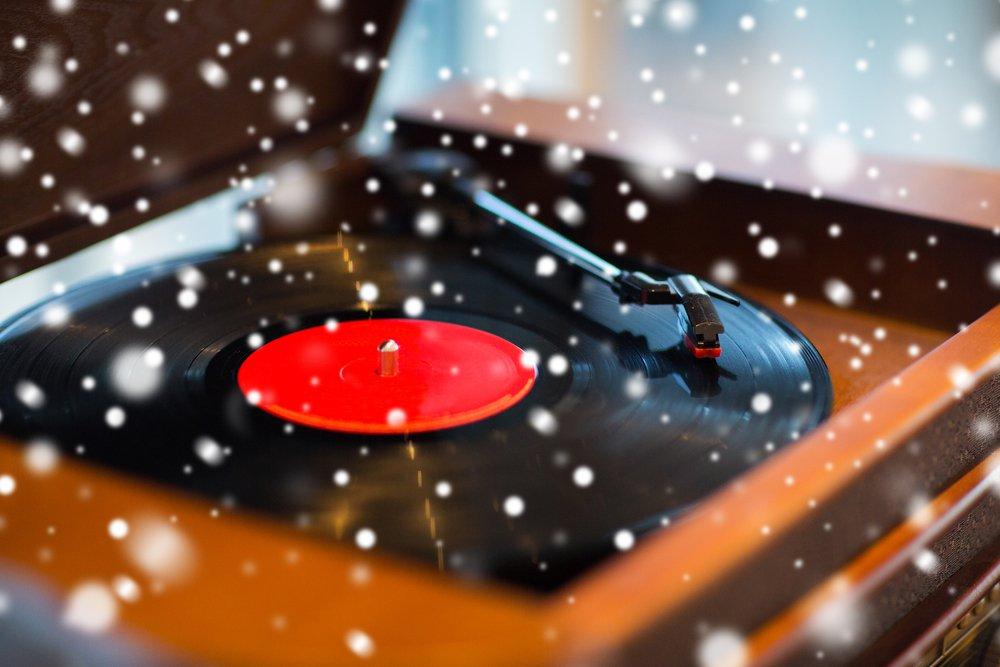 雪とレコード