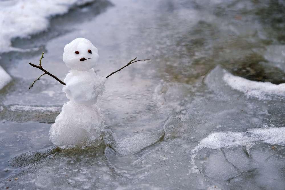 暖冬 スノボ
